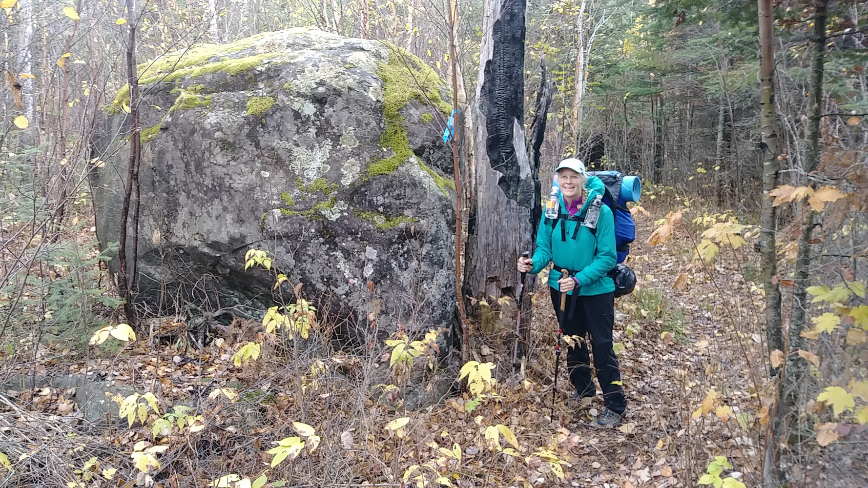 Kekekabic Trail Erratic