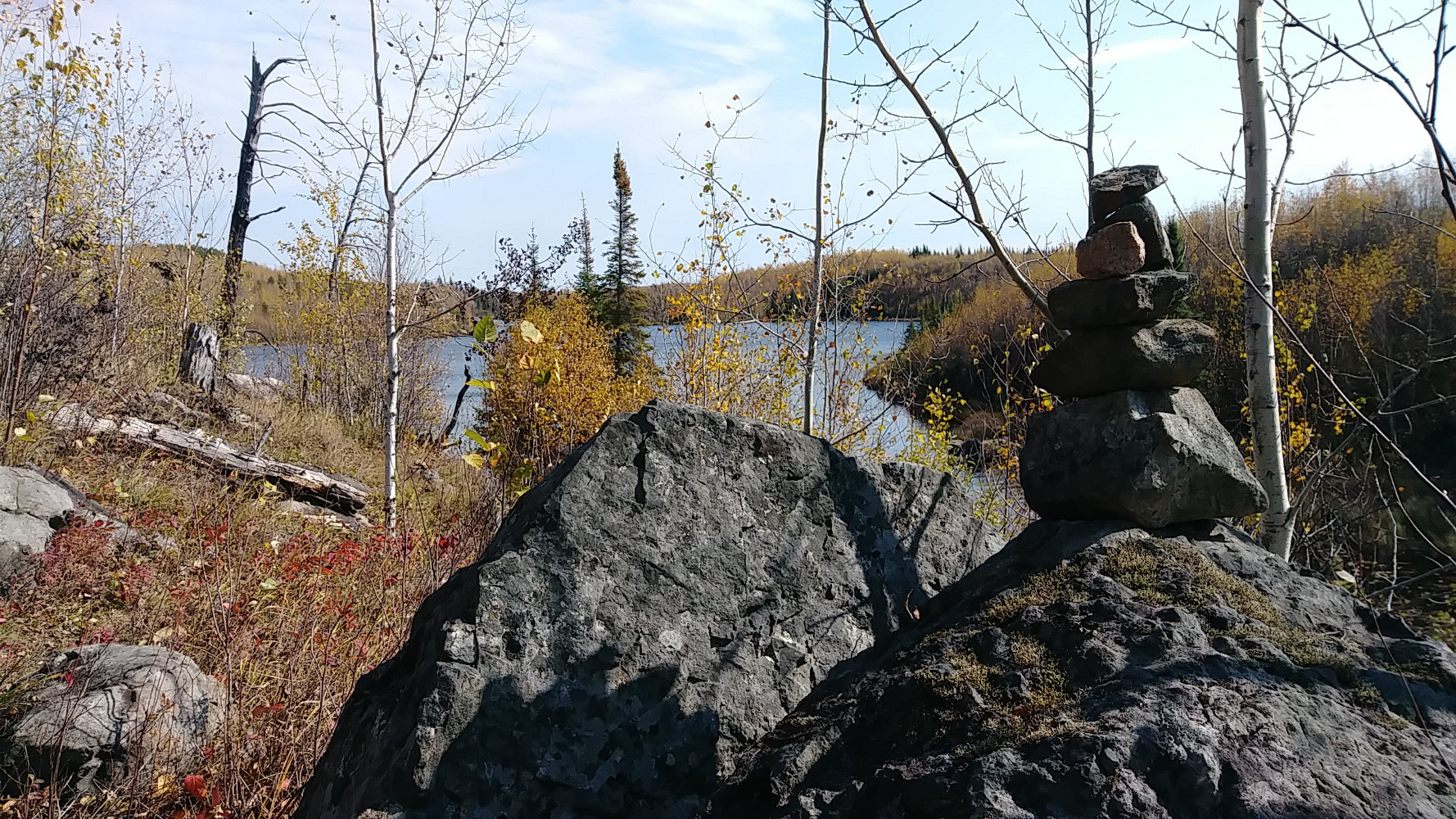 Kekekabit Trail Rock Cairn